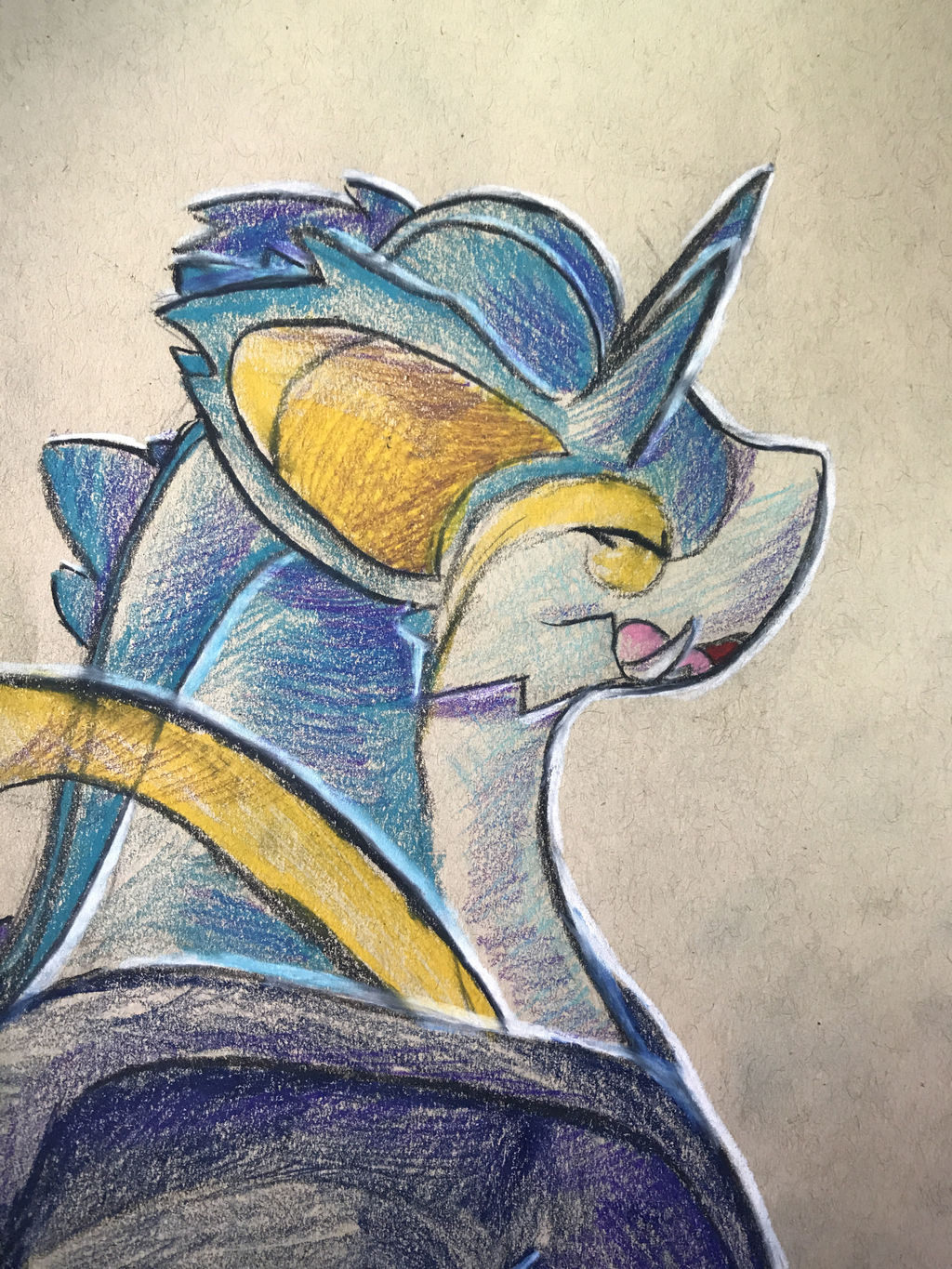 Snidraking - Colored Pencil