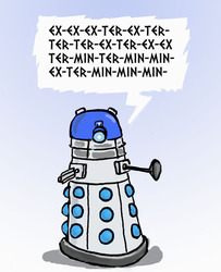 dalek speech impediments