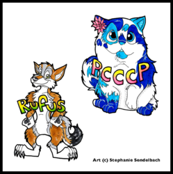 Rufus and Pcccp Badges