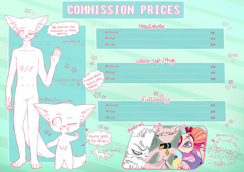 Commission Sheet 2018 (OPEN)