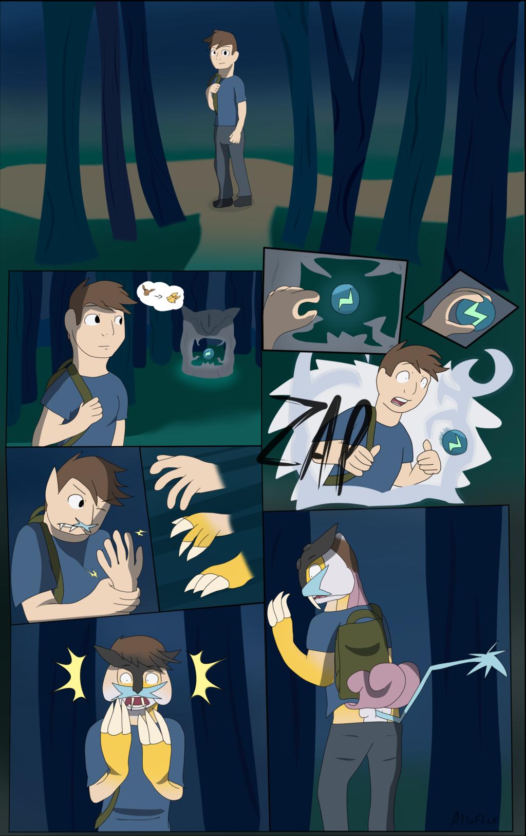 Raikou Transformation page 1