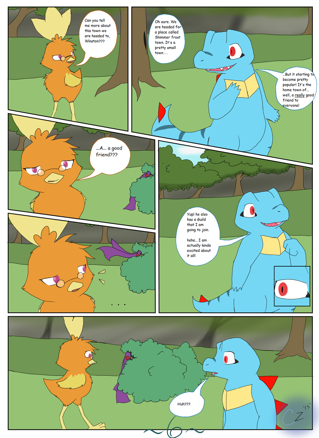 The Adventures of Team Rosewood: Ch. 1 - Pg. 6
