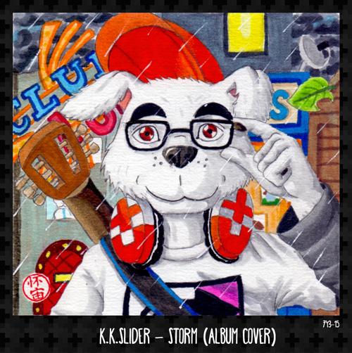 K.K. Slider - Storm (Album Cover)