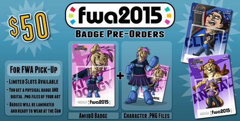 FWA 2015 - Badge PreOrders