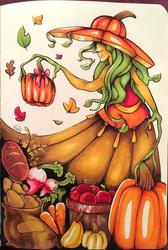 Inktober 2018: Day 28 - Gift + Harvest