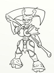 Female Horned Reaper