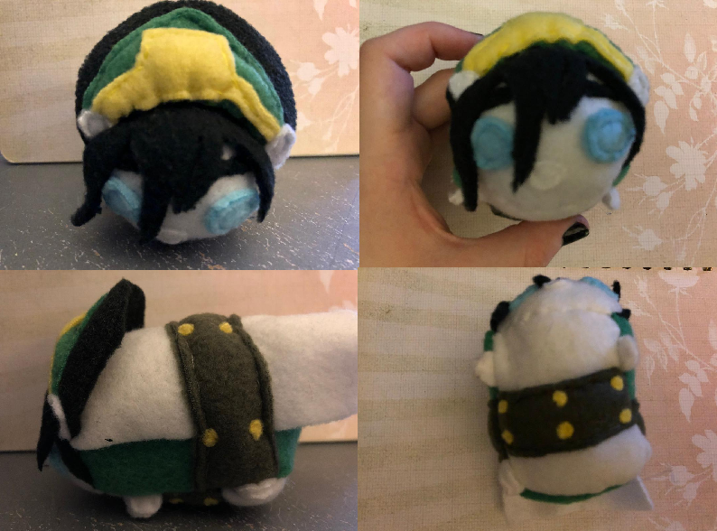 Avatar the Last Airbender Toph Beifong Stacking Plush made for myself