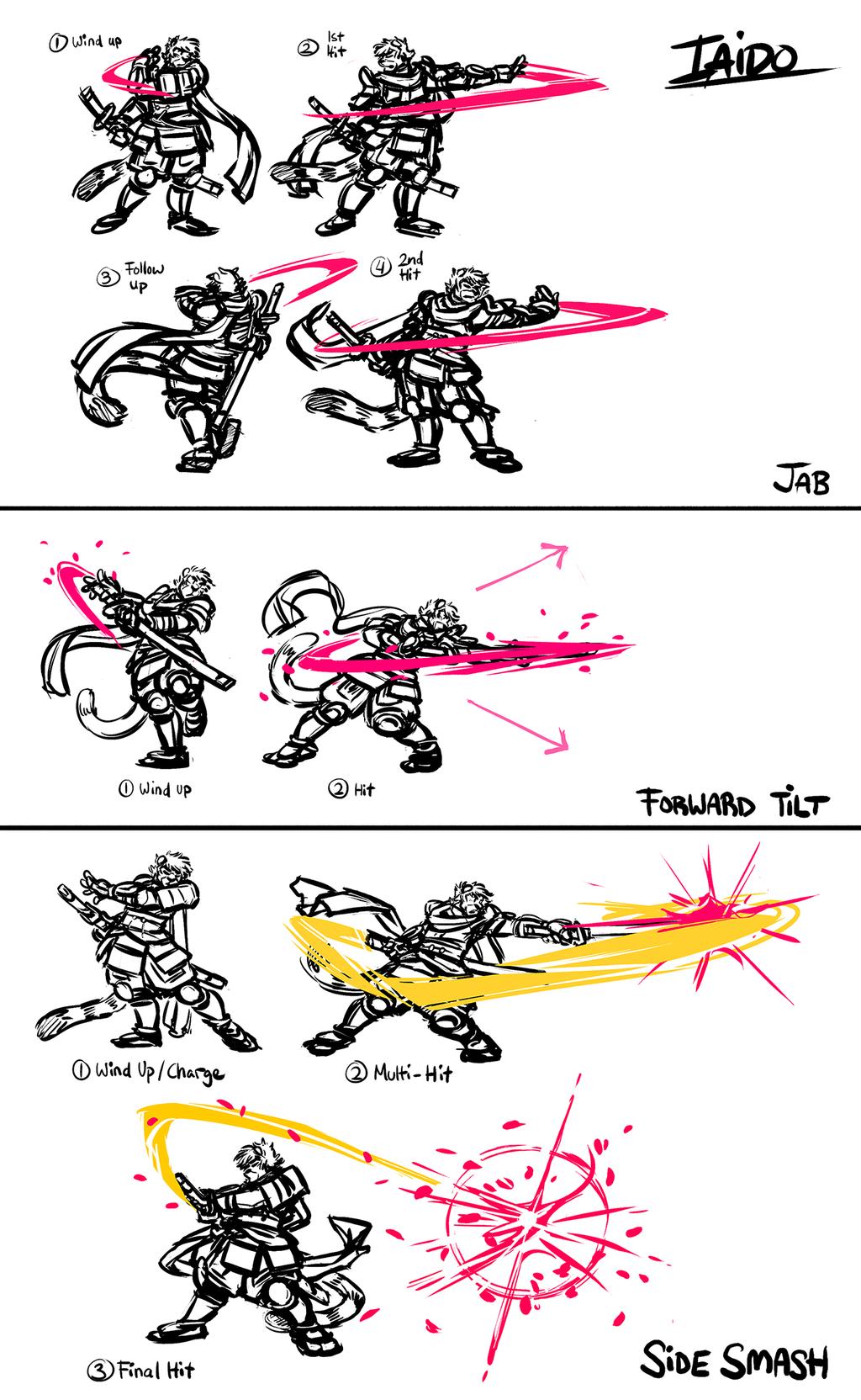 Iaido Smash Moveset