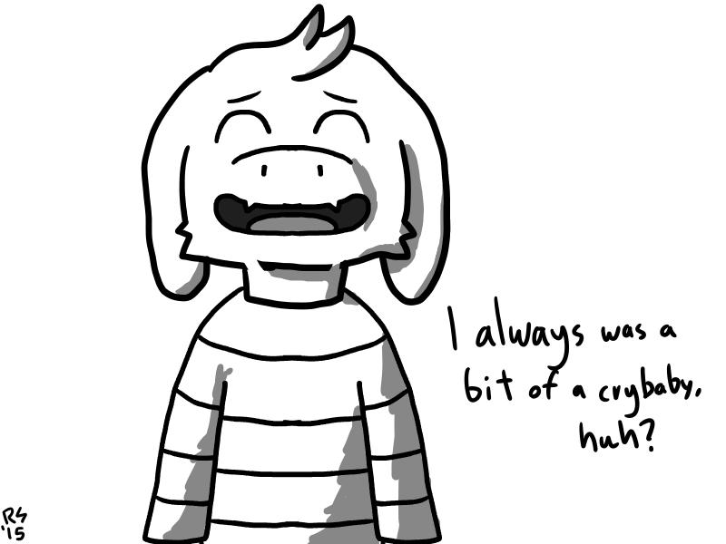 (UNDERTALE SPOILERS) Huggable Goat Kid