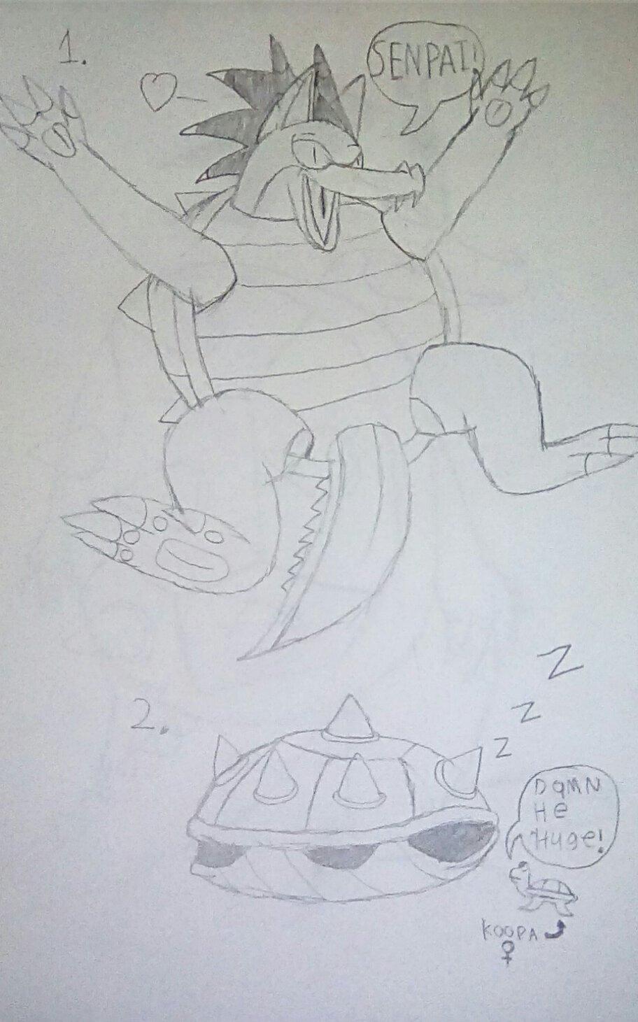 Ultra's Koopa form