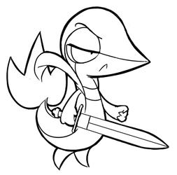 Final Fantasy Snivy