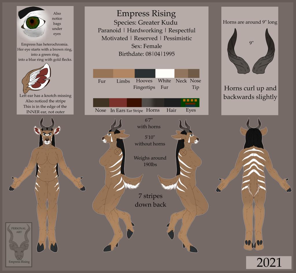 Empress Rising 2021 Reference