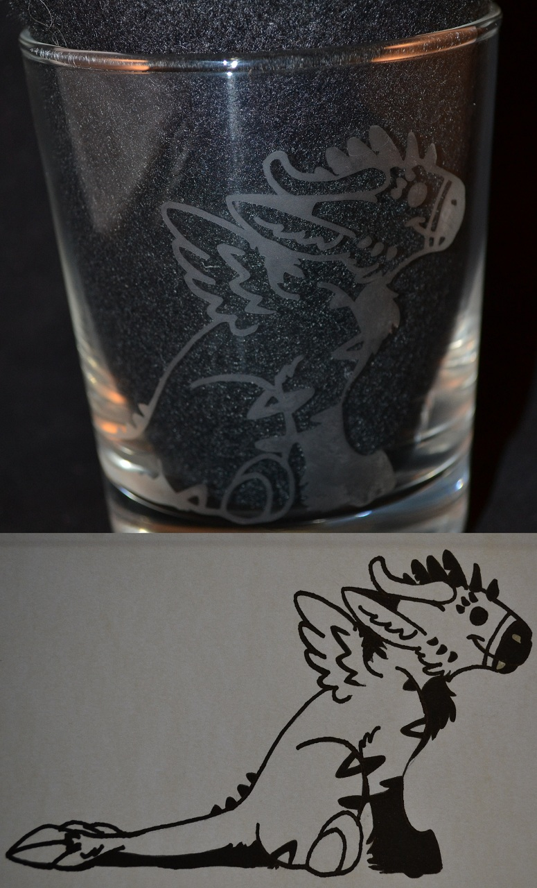 Telephone Glassware and Decals