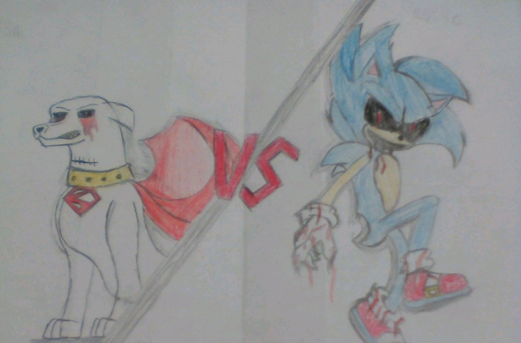 Krypto.EXE [VS] Sonic.EXE