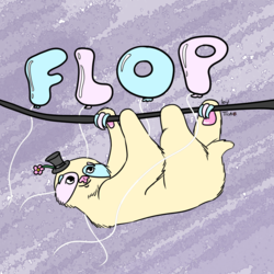 Trade: badge for Flop the candyfloss sloth