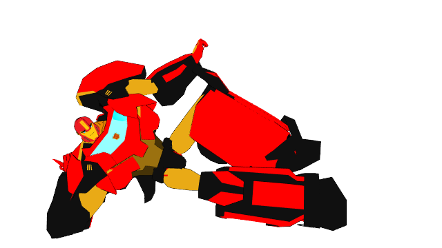 MMD Autobot Mike's new look