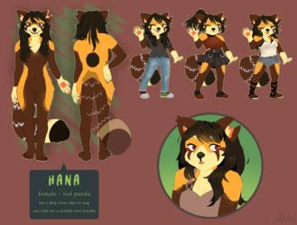 [comm] Hana reference sheet