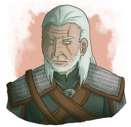 Geralt doodle