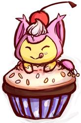 Skitty Cupcake
