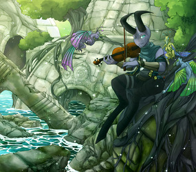 Violin Serenity