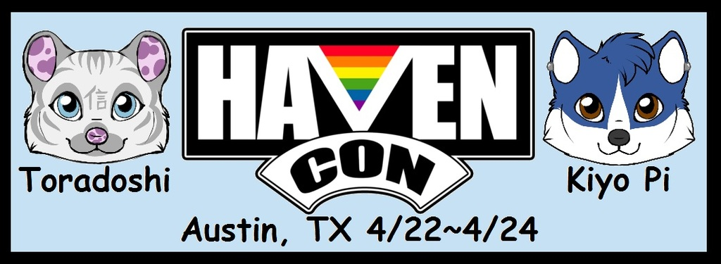 HavenCon!!!! We'll be there, will you??!?!?!