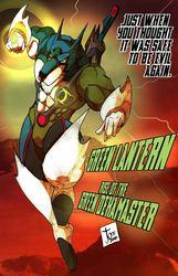 GREEN LANTERN: RISE OF THE GREEN DEKAMASTER!