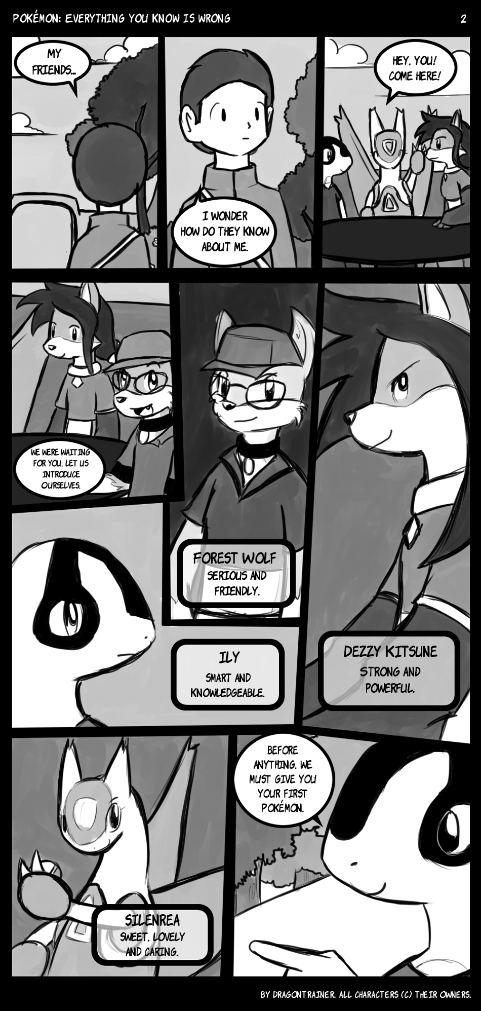 Most recent image: Pokémon: Everything you know is wrong, Page 2