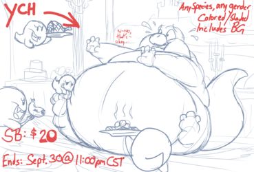 [ENDED] YCH: A Fine Dining Experience!