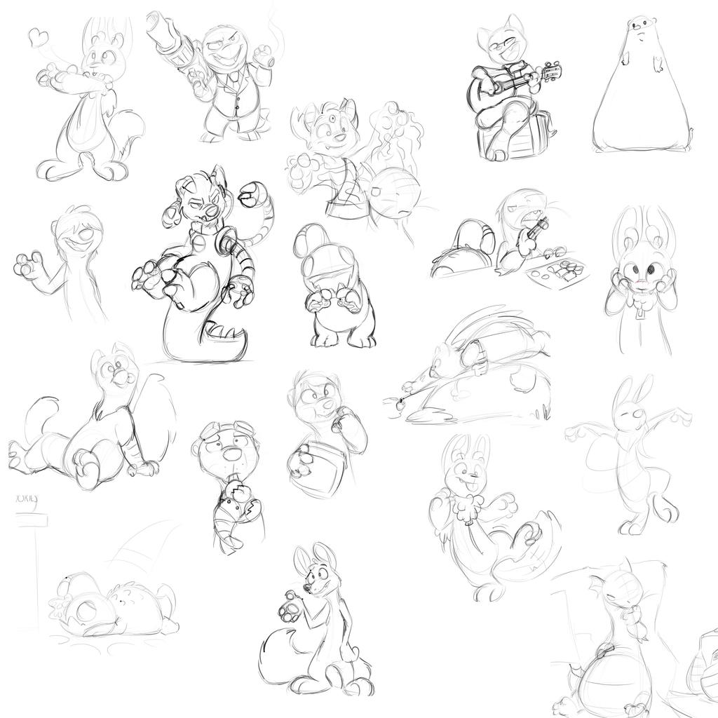 Sketchlog Week 5-4-14