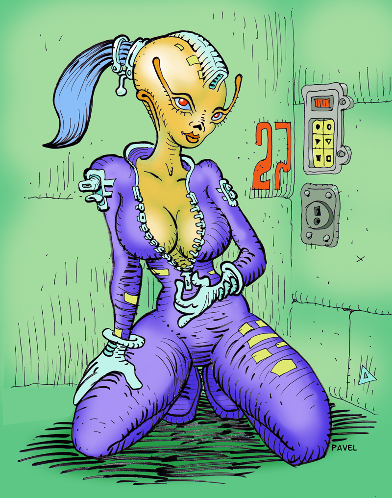 Most recent image: Alien Pinup