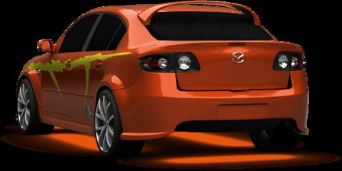 Mazda 3 shot 2