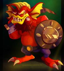 Zelda - Geozard Chief