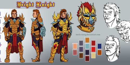 Character Sheet: Bright Knight