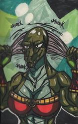 Dingo The Dragonborn(Berrel Spurt) Doodle Draft