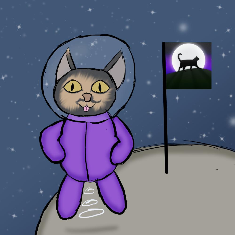 Kitty Cosmonaut