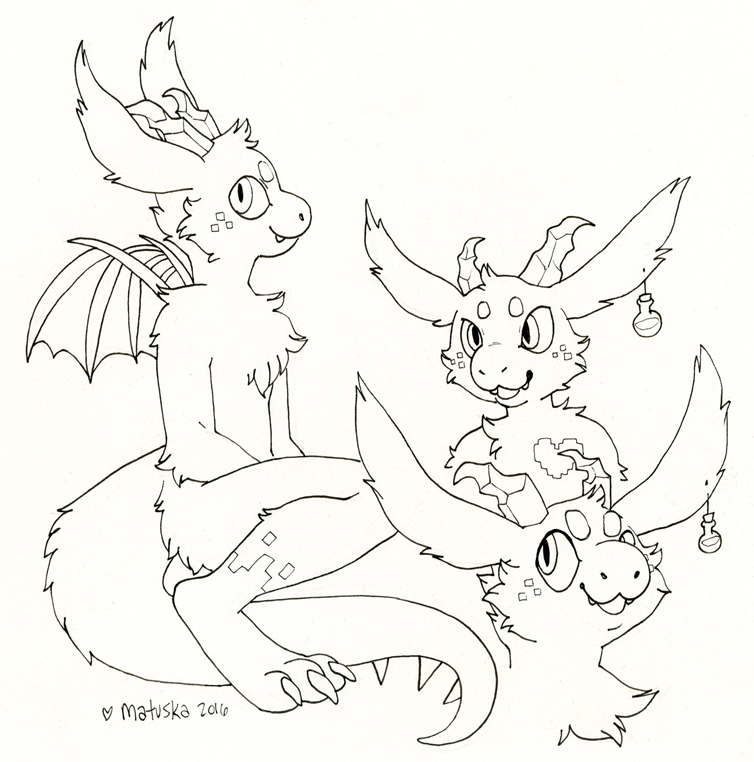 Mana dragon