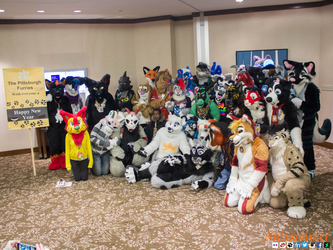 First Night 2015 Fursuiters