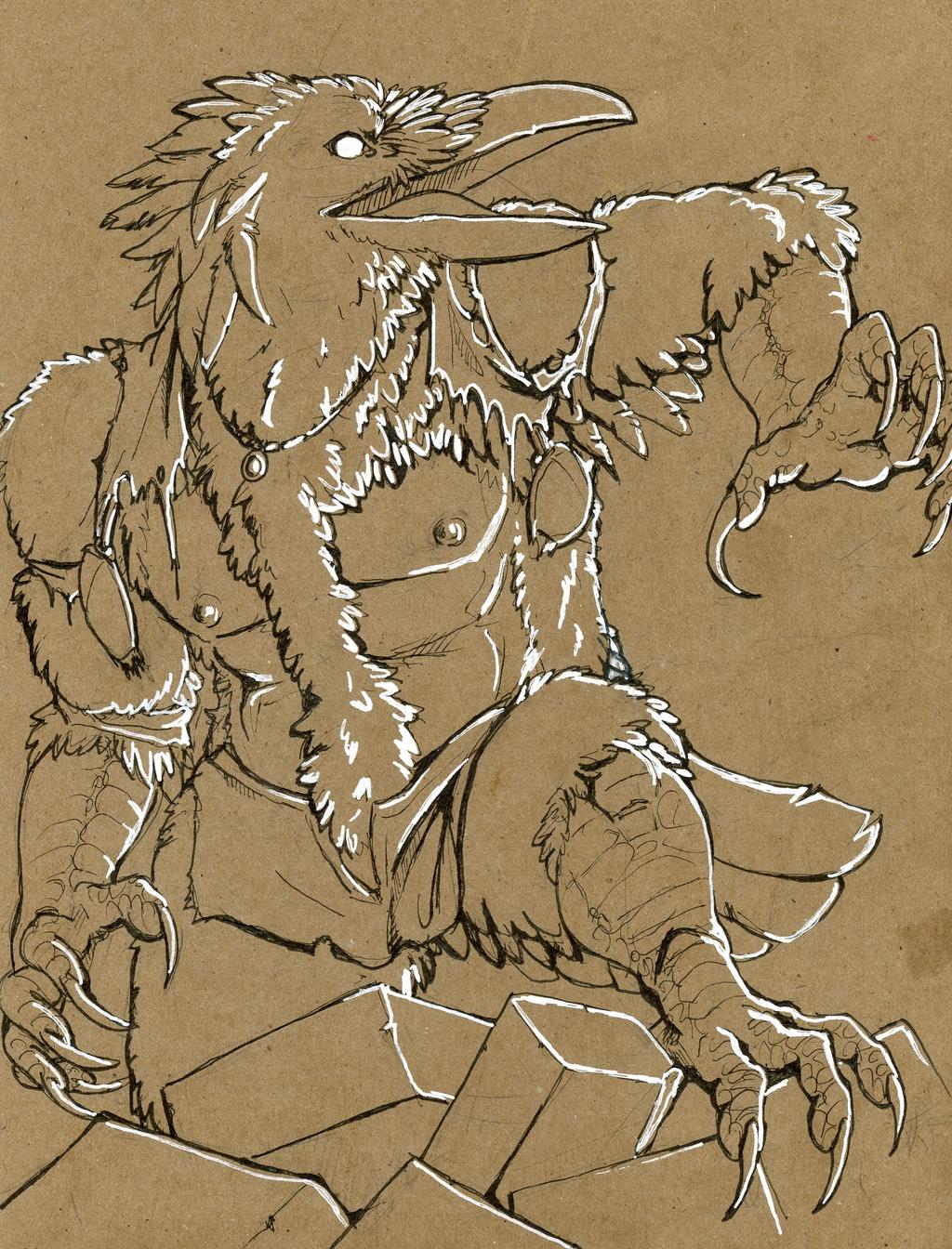 [Commission]-Monster hulk crow TF