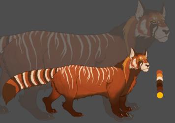 Red Panda Lion