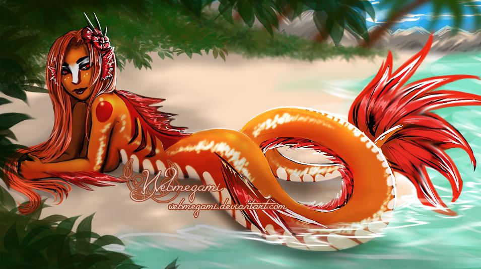 Speed paint - Dragon island