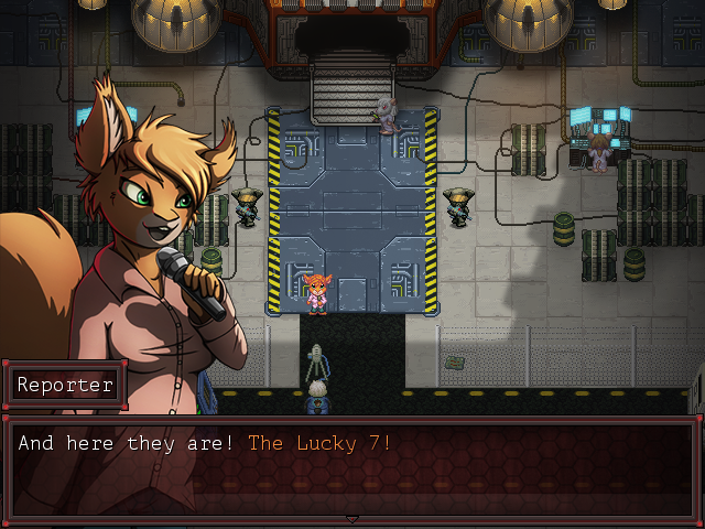 Most recent image: Game Screen 1 - (un)Lucky7