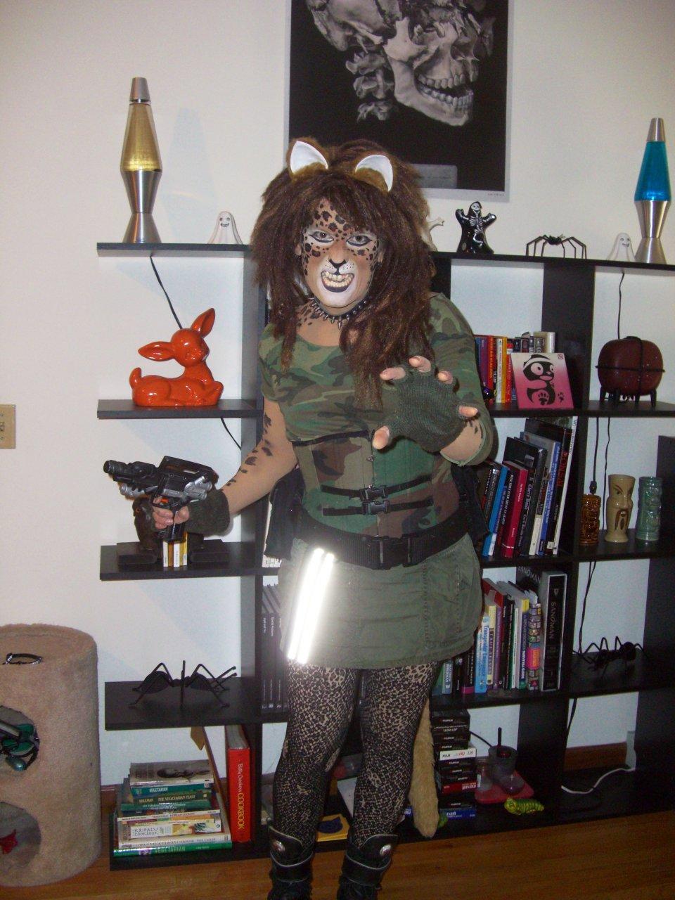 Post-apocalyptic Leopardess practice