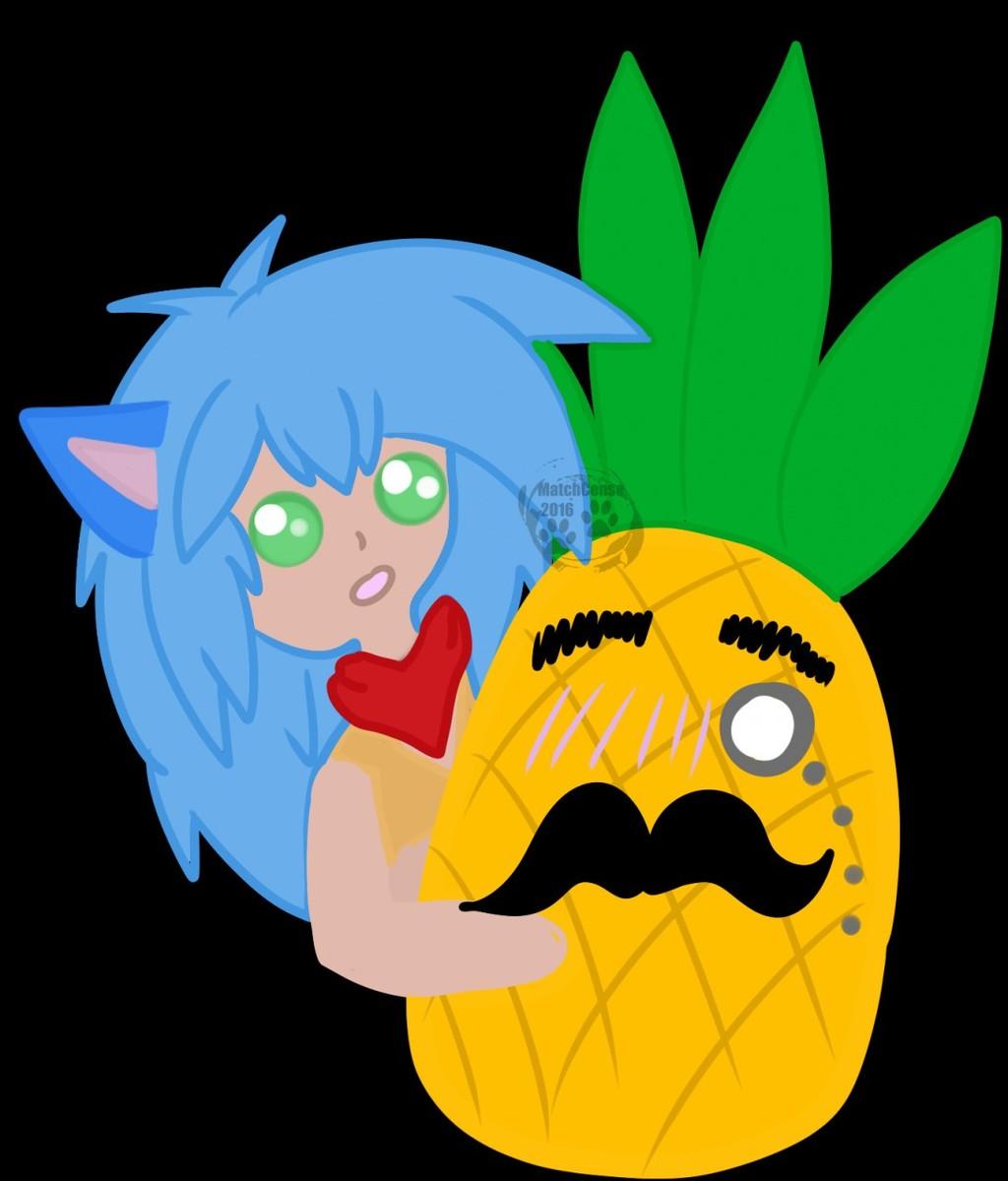 Pish Posh Pineapple - F