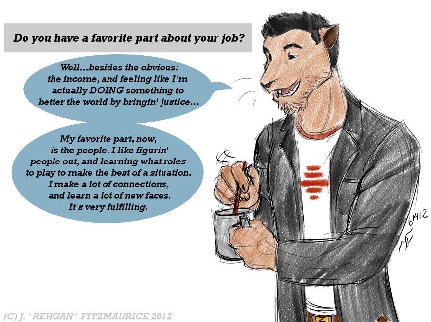 Ask and Draw: Job Perks