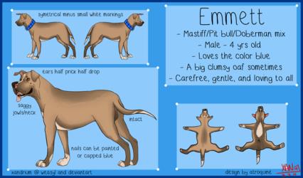 Emmett Reference Sheet update