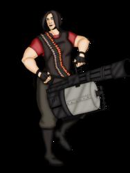 Zhanna as the Heavy