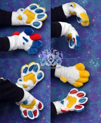 Colorful Feral Paws