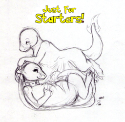 Just For Starters! (#004 Charmander) - by LustBubbles