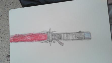 The Lightsaber of hate ( Grethon's lightsaber)