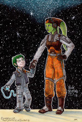 Jacen and Hera Syndulla